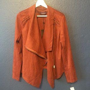 Vigoss Jackets & Coats - VIGOSS Faux Suede Wrap Jacket